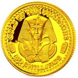 Gold of pharaons – Somalia – 2002 – gold coin