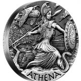Goddesses of Olympus – Athena – Tuvalu – 2015 – 2 Dollars – 2 oz silver coin
