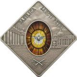 HOLY WINDOWS – Saint Peters Basilica (SANCTI PETRI) – Palau – 2011 – 10 Dollars – silver coin