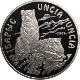 Uncia Uncia (Snow Leopard) – 5000 Tenge – Kazakhstan – silver coin (1 kg)