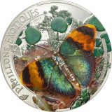 Euphaedra Neophron 3D Butterfly – Central African Republic – 1000 Francs – 2014 – silver coin