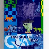 Kazakhstan – Invisible Man – 2014 – test (specimen) banknote in 16 pages FOLDER