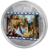 Masterpieces of Art – Adoration of the Shepherds (Charles Le Brun) – Cook Islands – 2012 – 20 Dollars – 3 oz silver coin