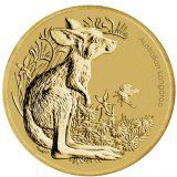 Australian Bush Babies: Kangaroo – 2011 – 1 Dollar – Australia – bronze coin with stamp