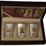 Orthodox Shrines:Triptych – Niue – 2012 – 2 Dollars – set of 3 silver coins