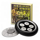 Great Motorcycles of the 30's – Cook Islands – 2007 – 2 Dollars – set of 5 coloured silver coins
