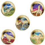 Celebrate Australia – 2012 – 1 Dollar – Australia – set of 5 bronze coins in album