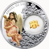 Angel of Luck – Niue – 2015 – 1 Dollar – silver coin with gilding