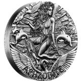 Goddesses of Olympus – Aphrodite – Tuvalu – 2015 – 2 Dollars – 2 oz silver coin