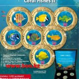 Coral Fishes 2 – Cook Islands – 2000 (2014) – 35 Cents – set of 7 nickel coins