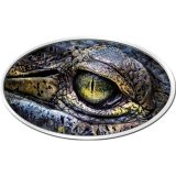 Croceye (Crocodile's Eye) – Niue – 2013 – 2 Dollars – ultra high relief silver coin