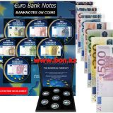 Banknotes on Coins: EURO – Germany – 50 Cents – set of 7 nickel coins