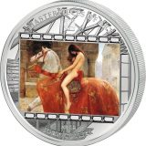 Masterpieces of Art – Lady Godiva (John Collier) – Cook Islands – 2013 – 20 Dollars – 3 oz silver coin