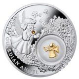 Guardian Angel – Niue – 2014 – 2 Dollars – silver coin with gilding