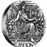 Goddesses of Olympus – Hera – Tuvalu – 2015 – 2 Dollars – 2 oz silver coin