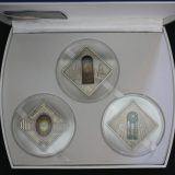 HOLY WINDOWS – Palau – 2011 – 10 Dollars – complete set of 3 silver coins