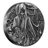 Norse Gods – Loki – Tuvalu – 2016 – 2 Dollars – 2 oz silver coin