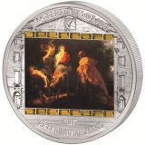 Masterpieces of Art – Flight into Egypt (Peter Paul Rubens) – Cook Islands – 2012 – 20 Dollars – 3 oz silver coin