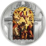 Masterpieces of Art – Resurrection of Jesus (Tintoretto) – Cook Islands – 2016 – 20 Dollars – 3 oz silver coin (PREMIUM EDITION)