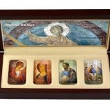Orthodox Shrines: Andrey Rublev – Niue – 2012 – 2 Dollars – set of 4 silver coins