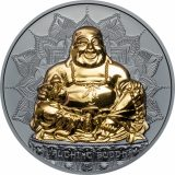 Lauthing Buddha – Palau – 2017 – 10 Dollars – 2 oz silver coin with gilding