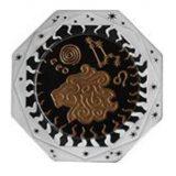Zodiac Signs: Leo – 100 Tenge – 2018 – Kazakhstan – silver & tantalum coin