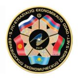 5 years of Eurasian Economic Union (EAEU) – 500 Tenge – 2019 – Kazakhstan – gold coin with hologram & pad priniting (1 oz)